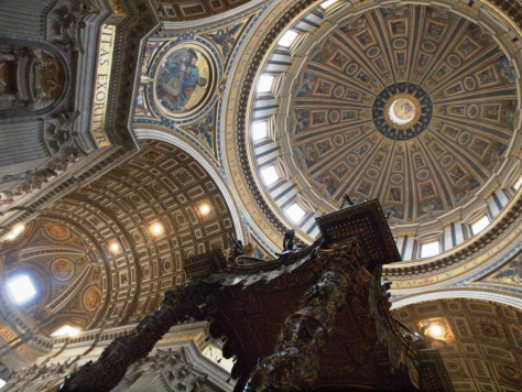 The dome of St. Peter's Basilica