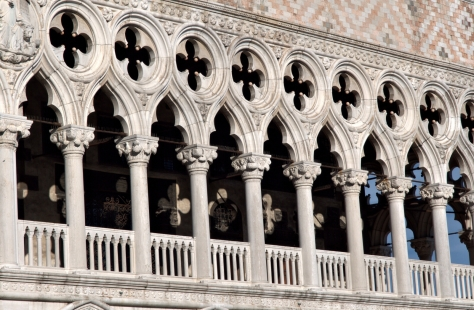 Doge's Palace - will neat patterns of sunlight