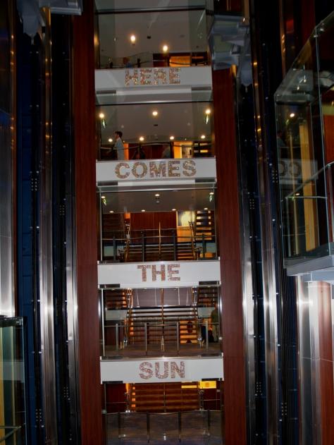 The Atrium (mid-ship elevators)