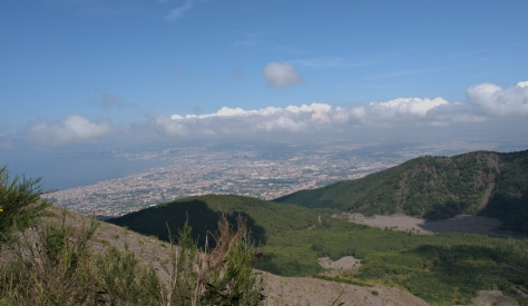 The view of Naples.