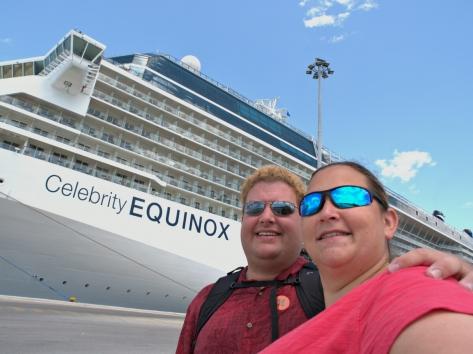 Cruise ship seflie!