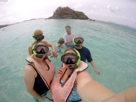 Ready to snorkel!