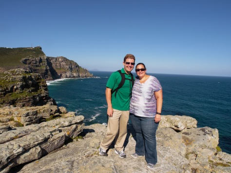 At the top of the Cape of Good Hope!
