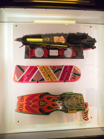 Hoverboards from Back to the Future II.