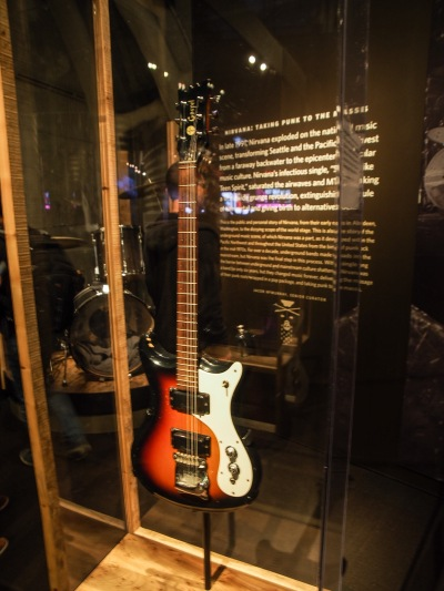 "Guitar played the first time Kurt Cobain played ""Smells Like Teen Spirit."""