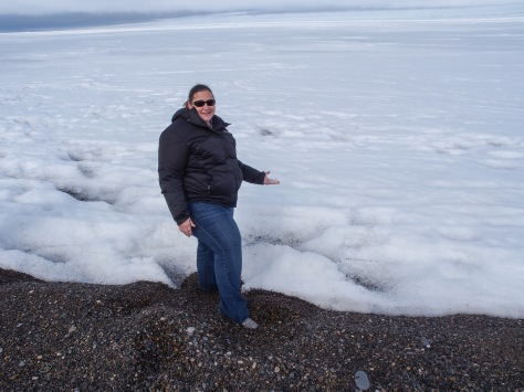 Touching the Arctic Ocean