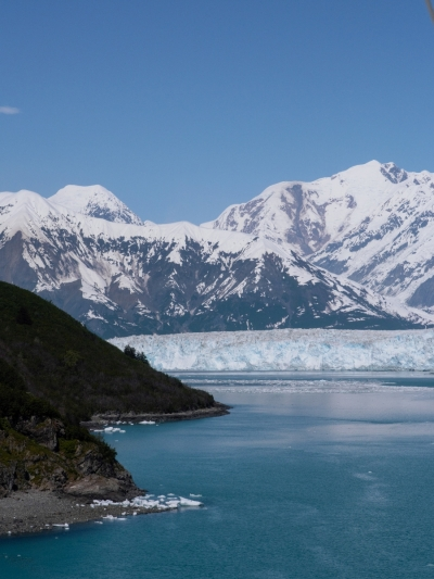 Approaching the Hubbard Glacier
